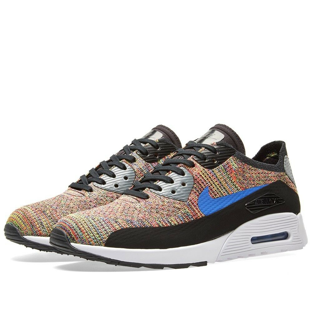 886e20d637ff3 Details about Nike W Air Max 90 Ultra 2.0 Flyknit # 881109 001 Multi Color  Women SZ 6 - 10