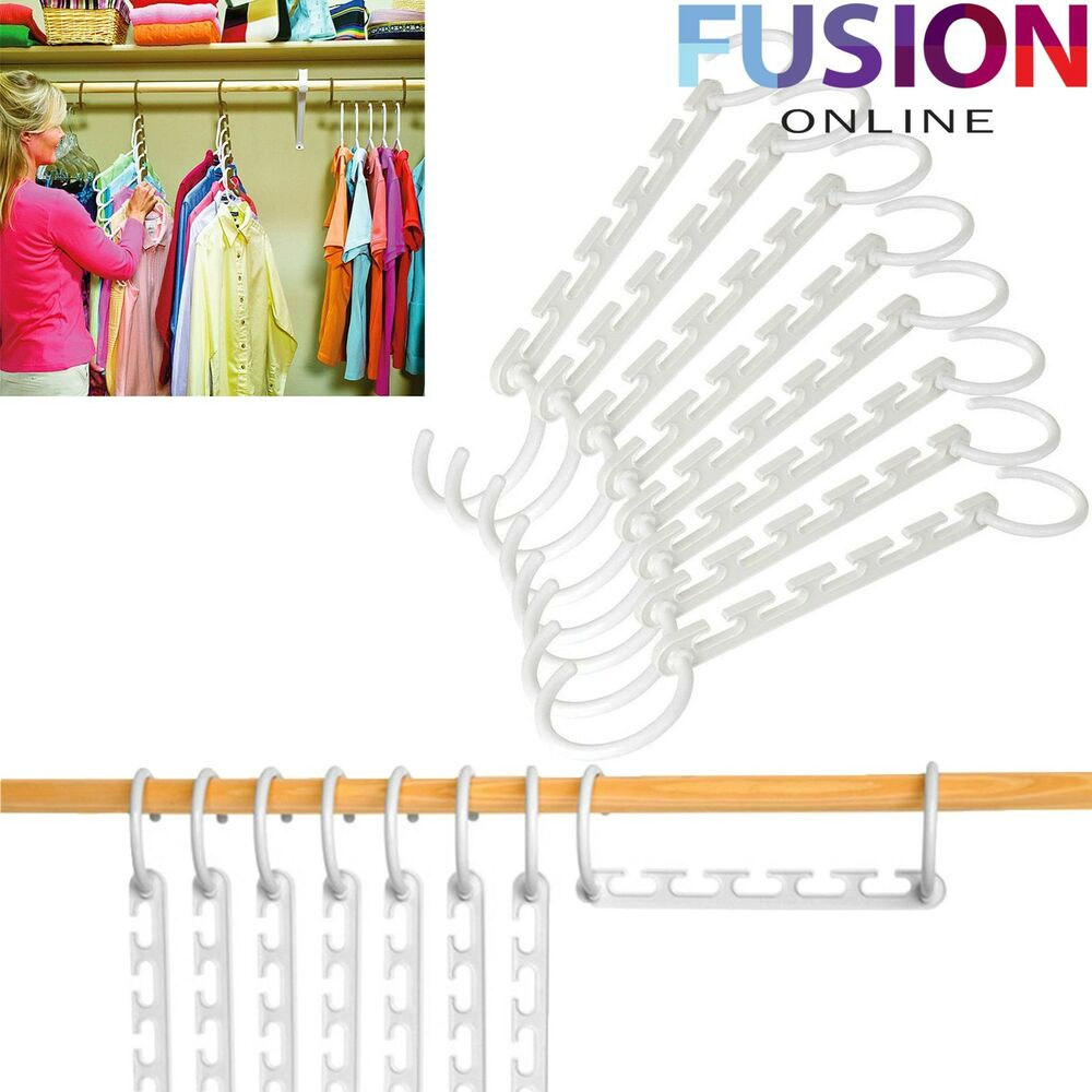 Multi Function Clothes Hangers Space Saving Closet