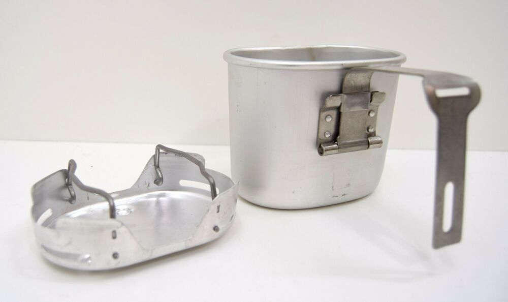 Belgian Army Cup Stove Compact Lightweight Cook Stand