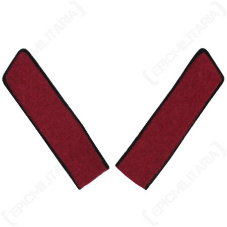 img-WW2 Russian Collar Tabs - Infantry Repro Army Badge Patch Uniform Soviet Soldier