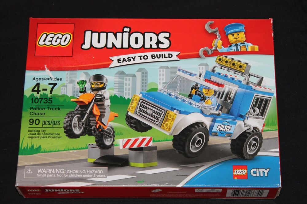 Lego Juniors Police Truck Chase Lego City 10735 ages 4-7 new in box ...