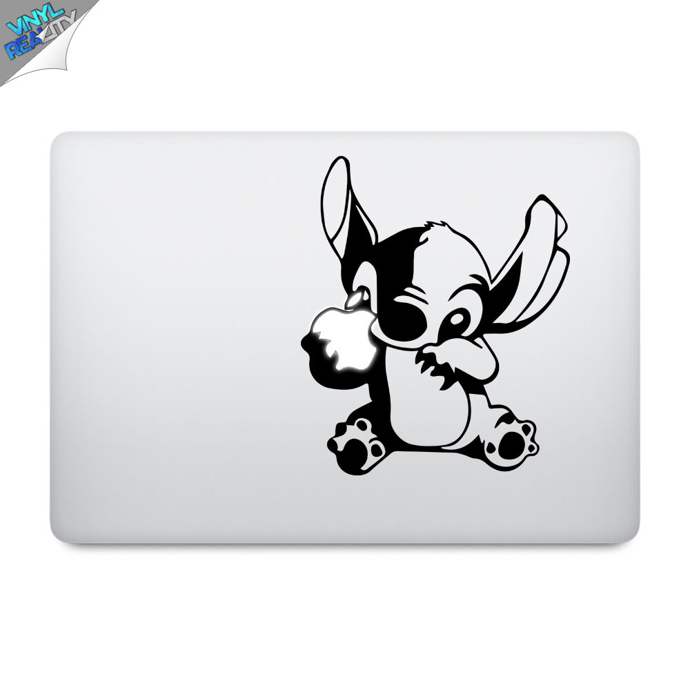 Stitch apple macbook decal sticker vinyl laptop 13 15 lilo disney ebay