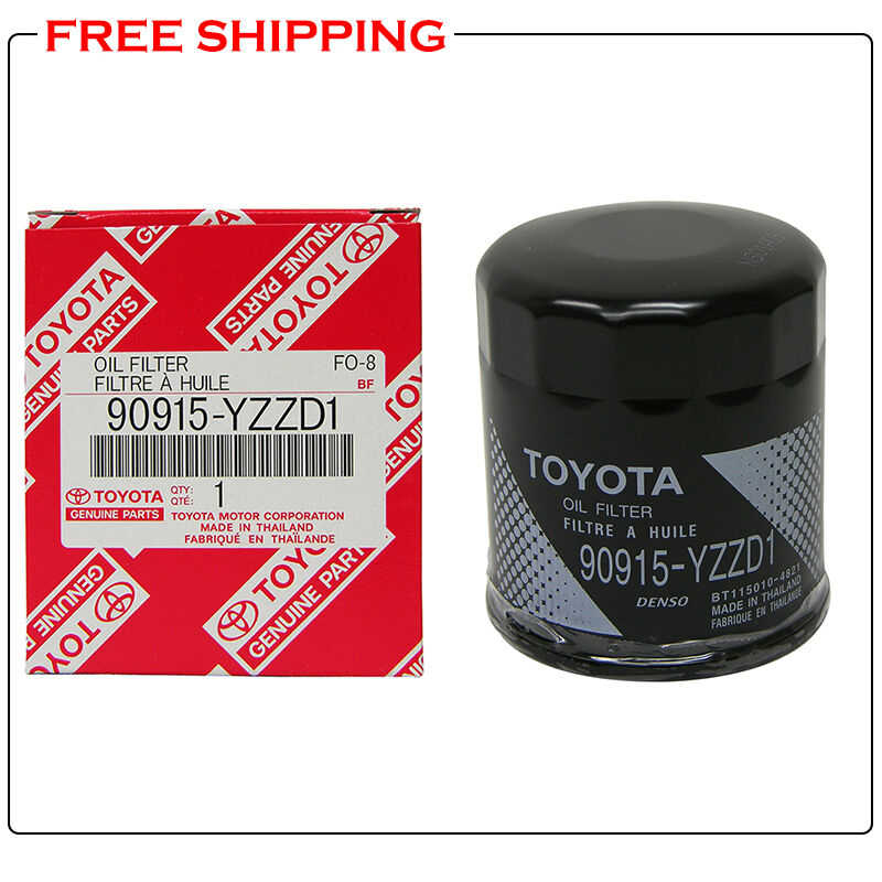 Toyota Oem Engine Oil Filter 90915 Yzzd1 For 4runner Camry