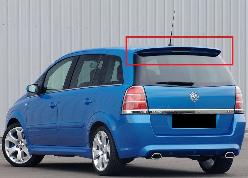 opel vauxhall zafira b mk2 rear roof spoiler opc line look. Black Bedroom Furniture Sets. Home Design Ideas