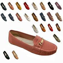 Women's Moccasins Slip On Indoor Outdoor Slipper Shoes