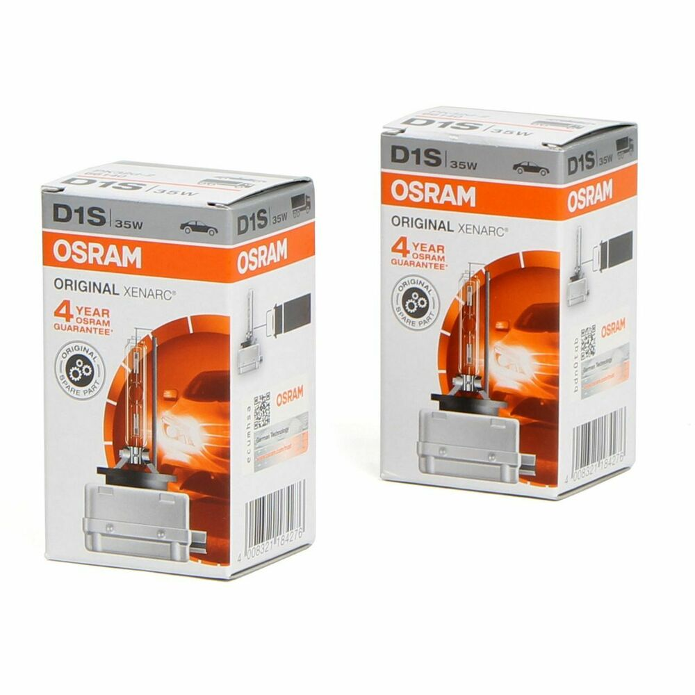 2x osram xenarc xenon brenner d1s original 85v 35w pk32d 2. Black Bedroom Furniture Sets. Home Design Ideas