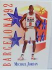 "MICHEAL JORDAN 1992 LIMITED SKYBOX BARCELONA USA TEAM ""534 BASKETBALL CARD"