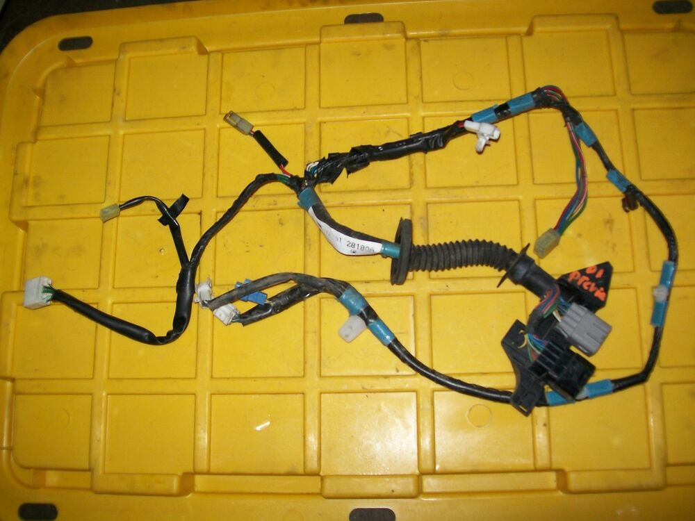 toyota previa wiring harness diy wiring diagrams \u2022 2000 toyota wiring harness diagram 91 97 toyota previa right front passenger door wire wiring harness rh ebay com 1979 toyota pickup wiring harness toyota wire harness connectors