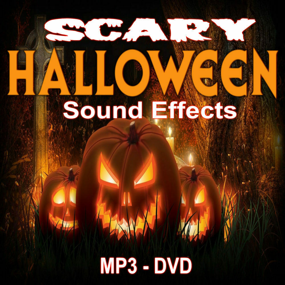 halloween horror sound effects music dvd mp3 ebay