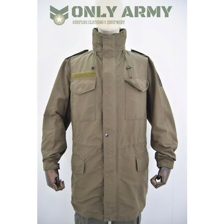 img-Austrian Army M65 Goretex Jacket Waterproof Smock Alpine Coat Lined Combat Used