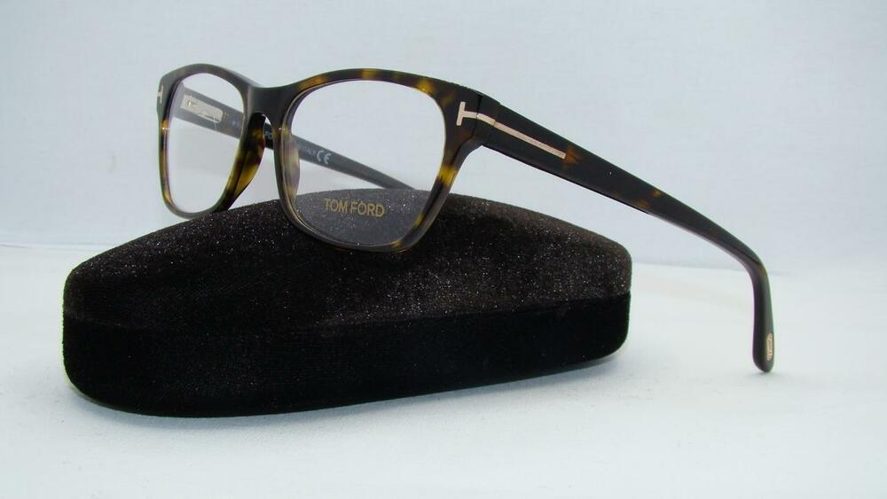 c2d1634076 Tom Ford TF 5405 052 Dark Havana Unisex Glasses Frames Eyeglasses Size 54  664689785735