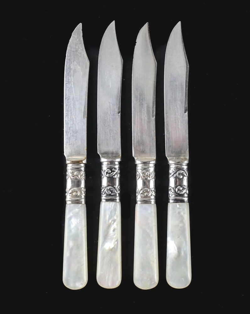 4pc American Cutlery Co Mother Of Pearl Handled Fruit