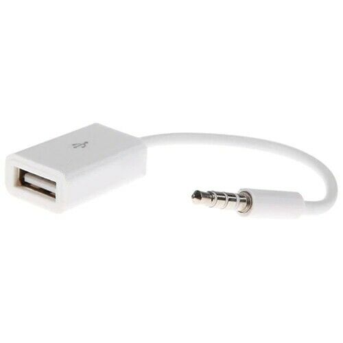 aux auxiliary audio jack to usb converter cable. Black Bedroom Furniture Sets. Home Design Ideas