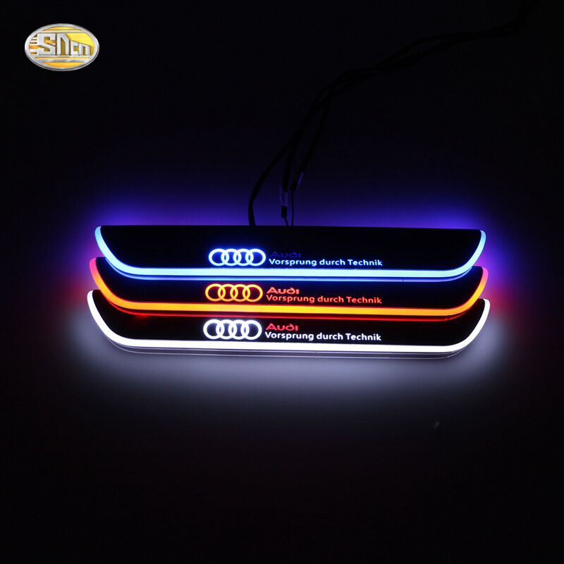 Led door sill for Audi A5 4-Door 2012-2015 moving light door scuff plate pedal   eBay
