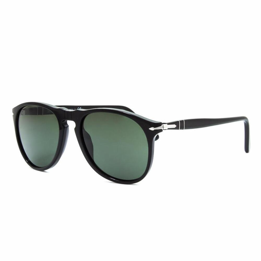 c07143f7e5f0f Details about Persol 9649 95 31 Black with Grey Tempered Lens Sunglasses  Sonnenbrille 55mm