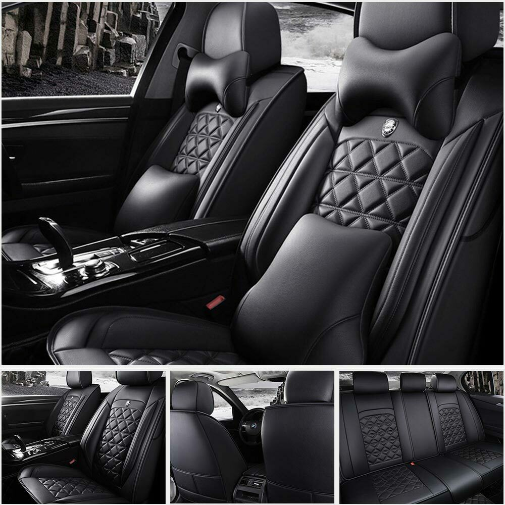 Us Top Microfiber Leather 5 Seats Car Seat Cover Cover