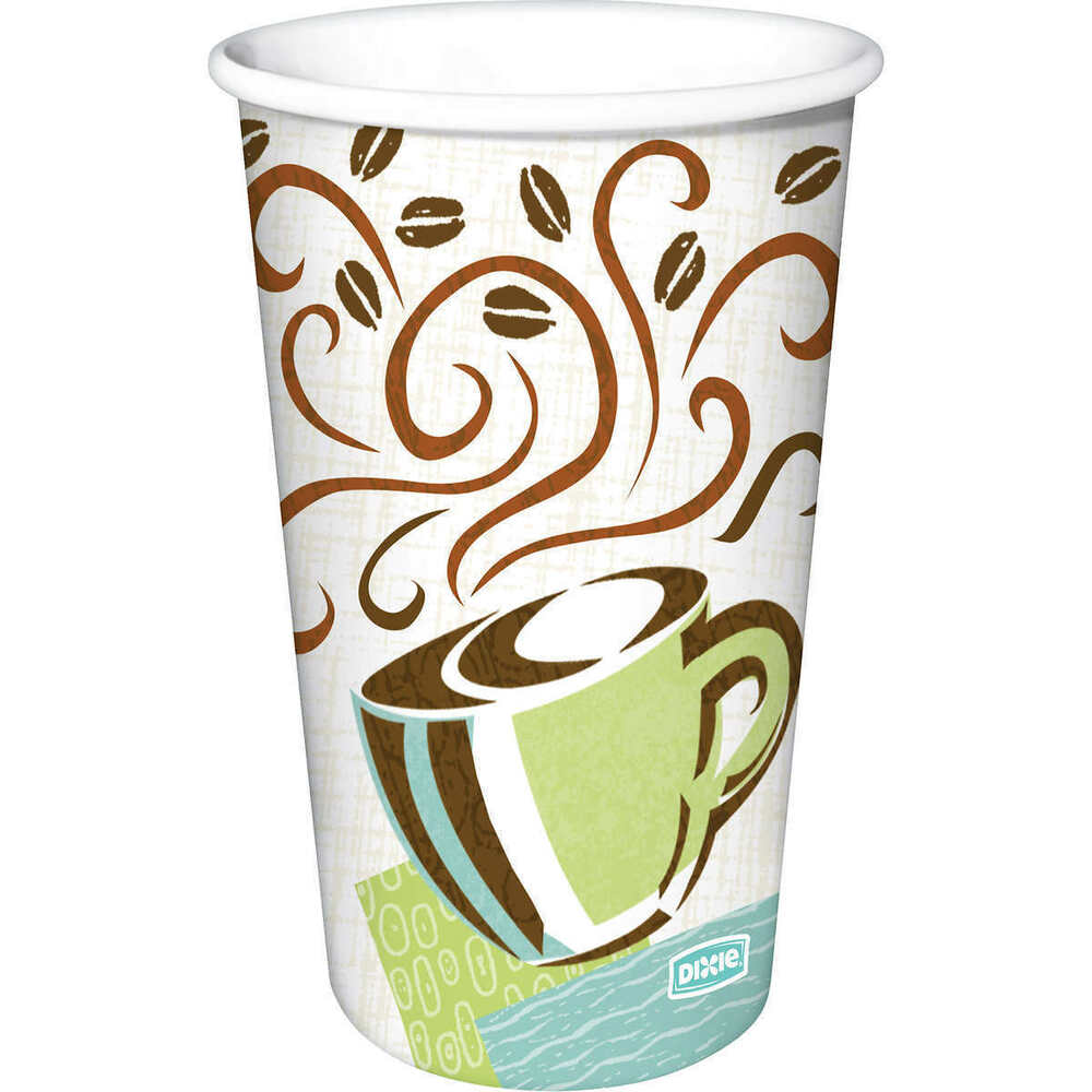 Dixie 12 Oz Perfectouch Insulated Paper Hot Cup Coffee