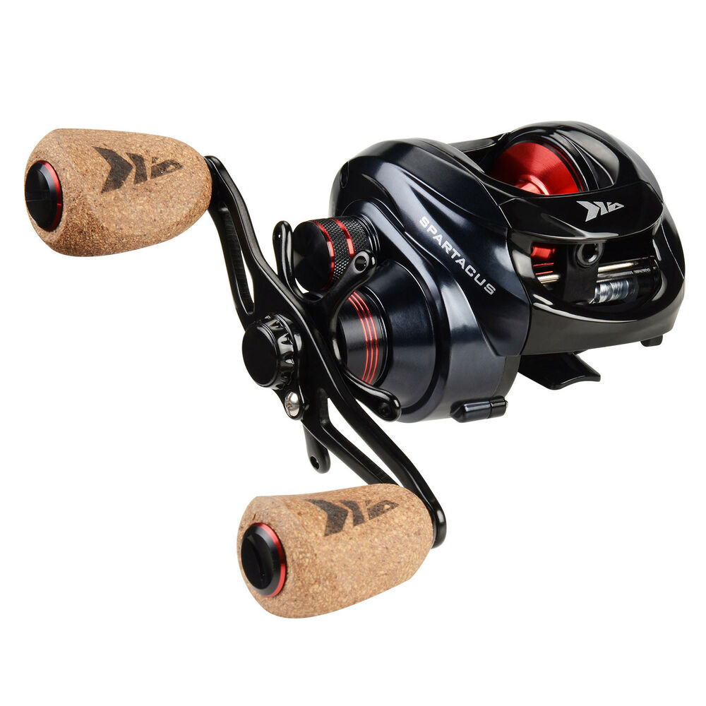 KastKing Spartacus Plus Low Profile Baitcaster Reel High ...