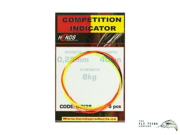 Hends Compeition Indicators | Strike Indicators | 5 Per Packet | 0.21mm - 0.38mm