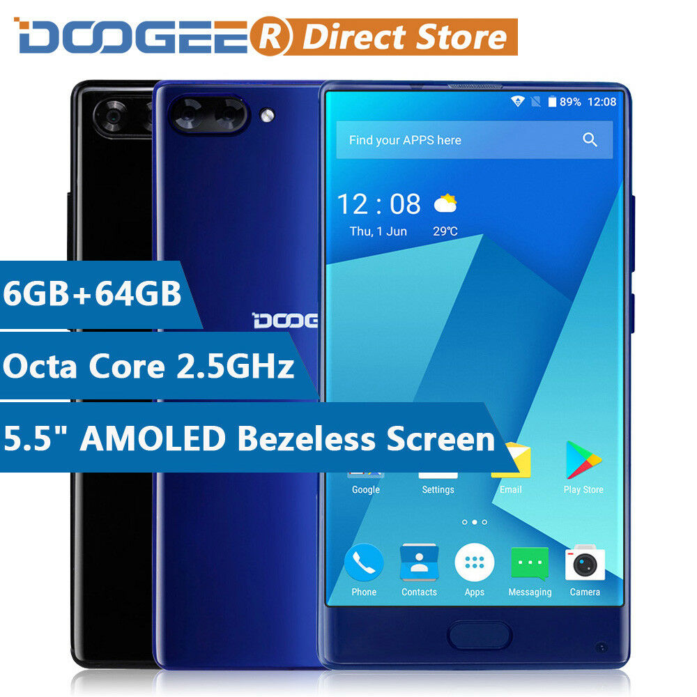 4g 5 5 39 39 doogee mix 4gb 6gb 64gb smartphone octa core. Black Bedroom Furniture Sets. Home Design Ideas