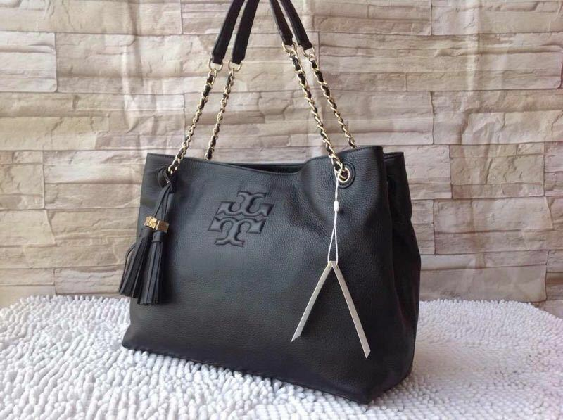 2ee1a847116 Details about NEW Tory Burch thea CHAIN SHOULDER SLOUCHY TOTE  495