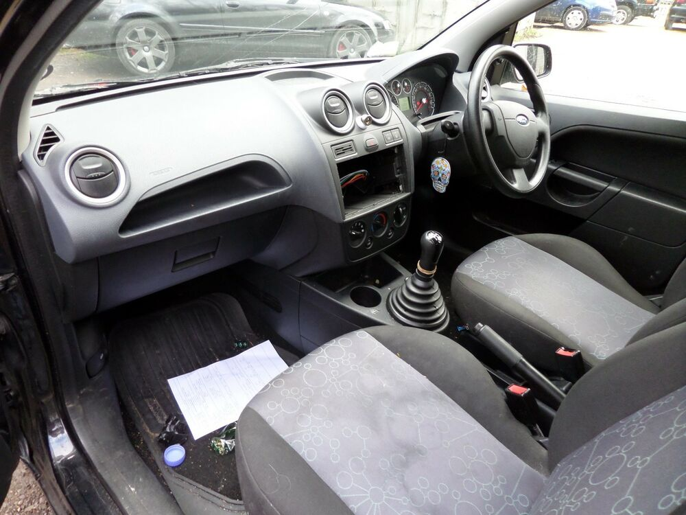 Details About Ford Fiesta Mk Grey Dashboard Airbag Kit Steering Wheel Bag And Pretensioners