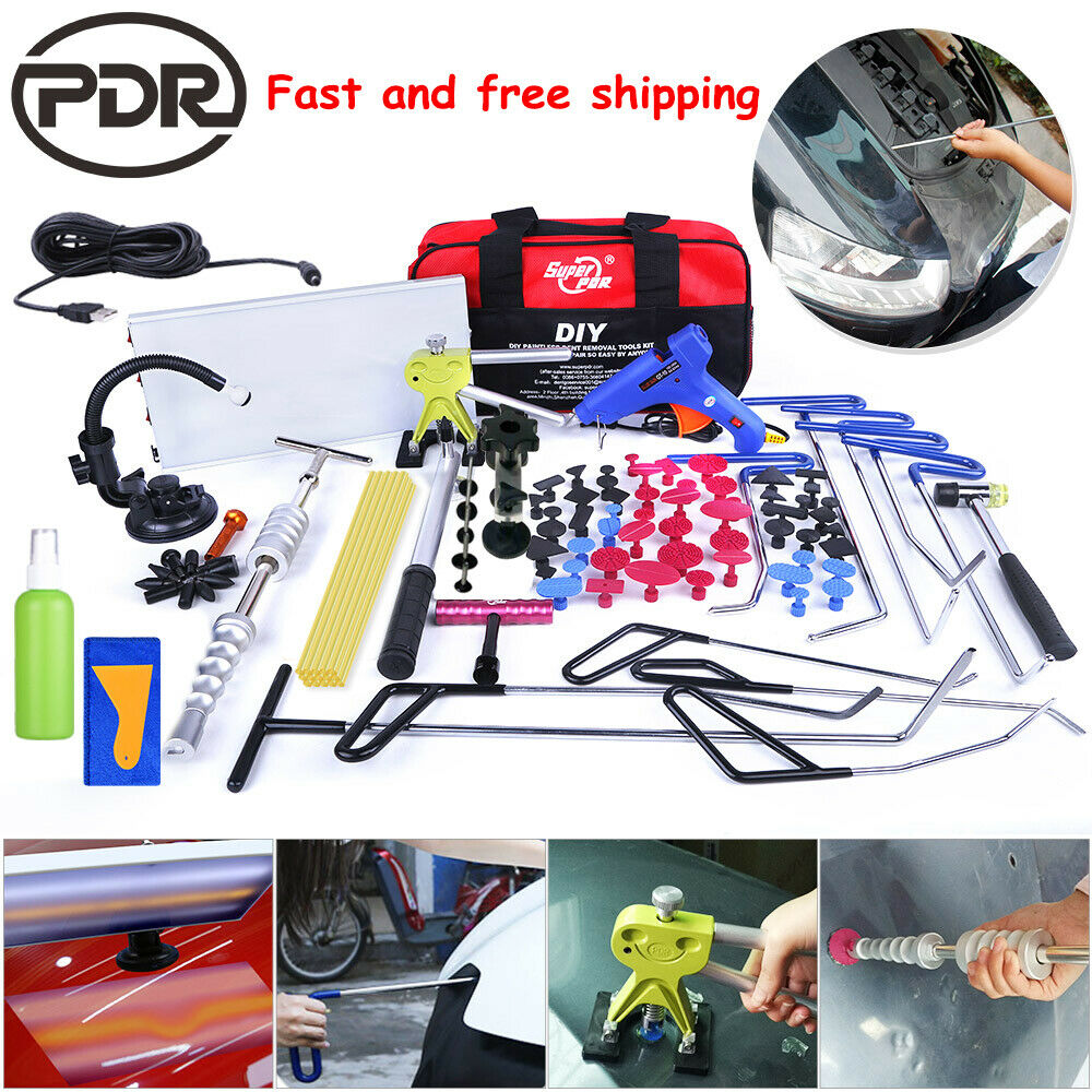 108× Paintless Dent Removal Puller Lifter PDR Tools Push
