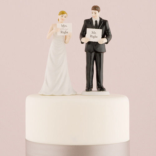 Read My Sign - Bride and Groom Wedding Cake Topper Funny Custom ...