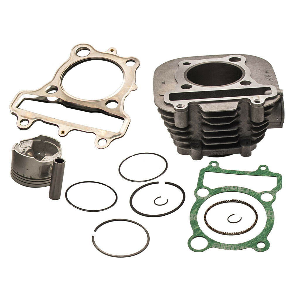 New Cylinder For Yamaha Timberwolf 250 Yfb250 Cylinder: Fit Yamaha Bear Tracker 250 Cylinder PISTON GASKET TOP END