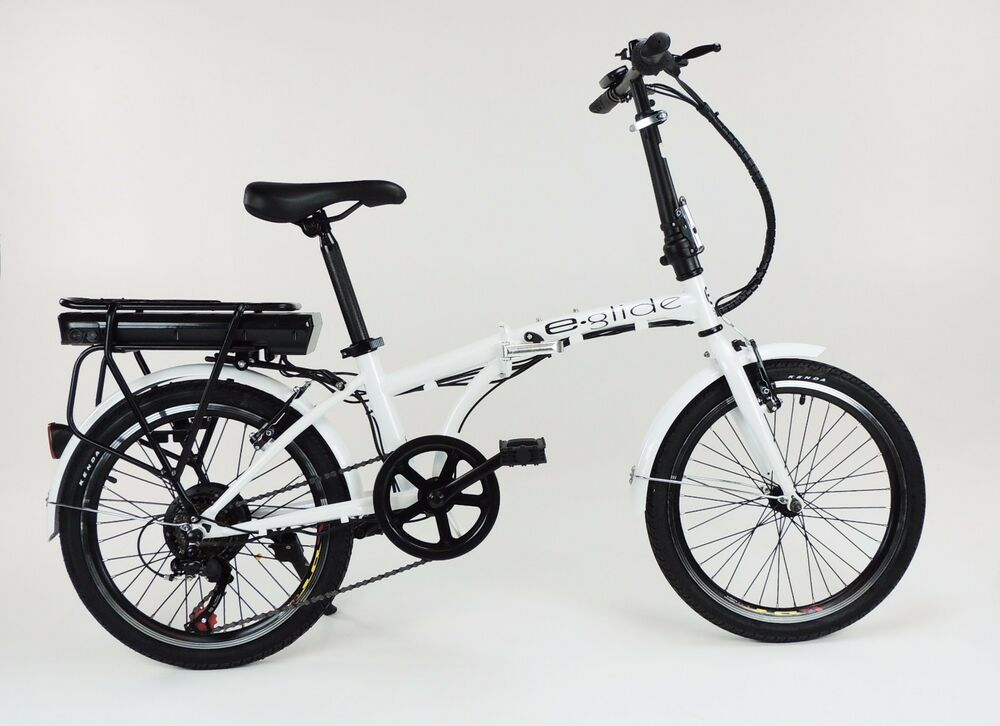e glide e bike electric bicycle 20 folding bike brand new ebay. Black Bedroom Furniture Sets. Home Design Ideas