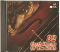 32 GREAT HYMNS OF THE FAITH CD - GREAT IS THY FAITHFULNESS & MORE