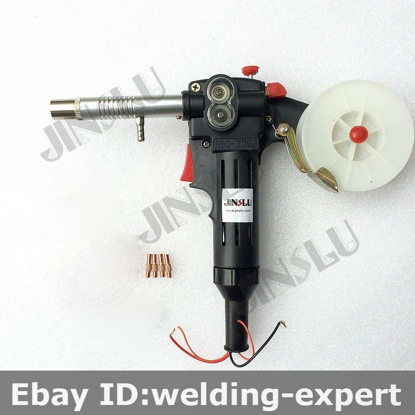 Dc 24v Toothed Mig Spool Gun Wire Feed Aluminum Welder