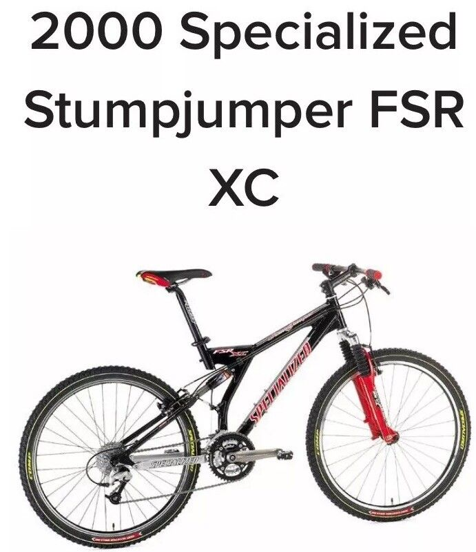 XL Specialized Stumpjumper FSR XC | eBay