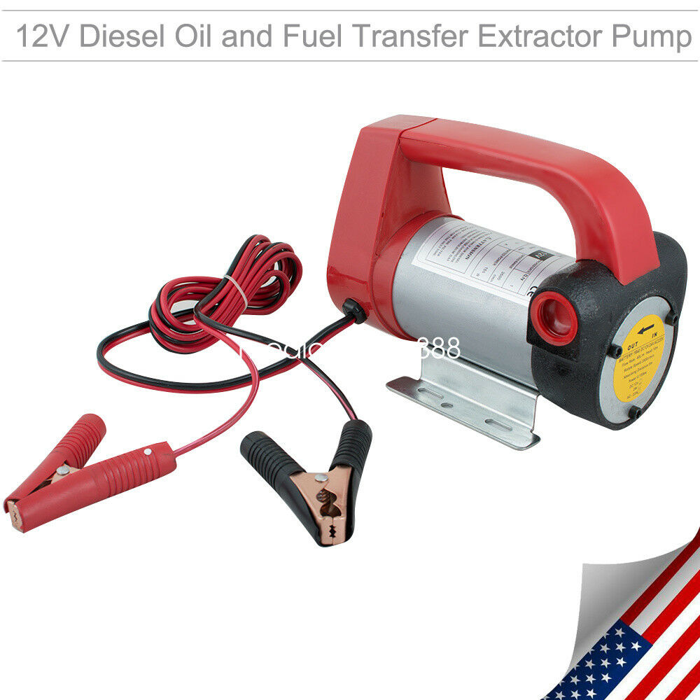 Dc12v 155w electric diesel oil fuel transfer extractor for How to lubricate an electric motor