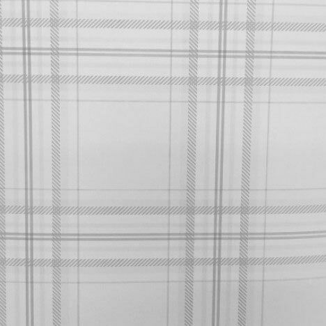 Grey Charcoal Check Wallpaper Tartan Checked Plaid Chequered Lined Feature Wall 5022976124387