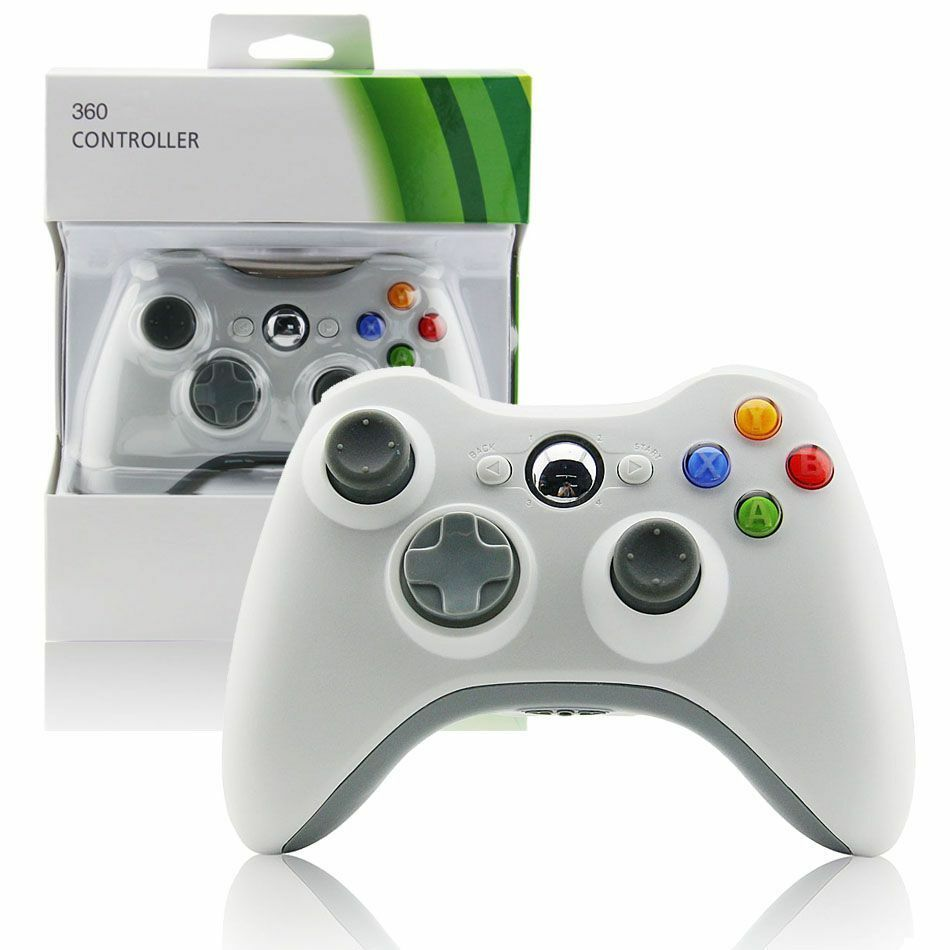 Xbox 360 Controller Boxed Wired Or Wireless Windows PC Compatible ...