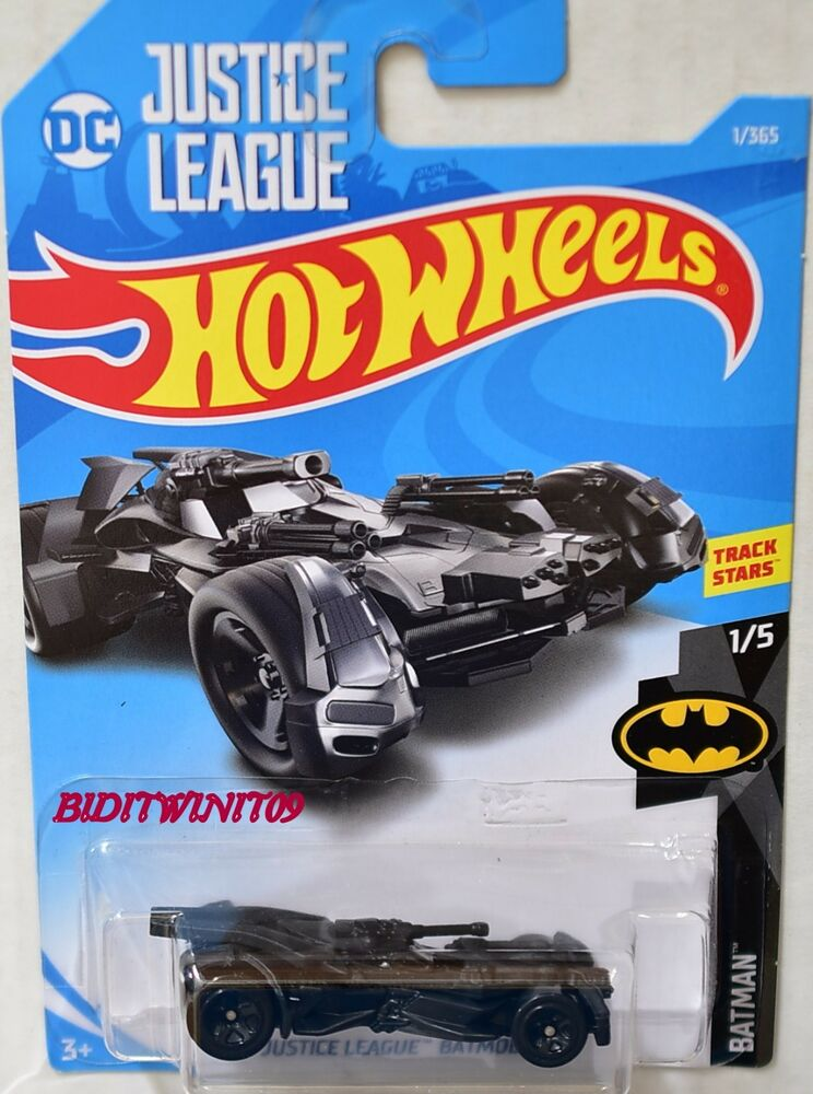 hot wheels 2018 batman justice league batmobile ebay. Black Bedroom Furniture Sets. Home Design Ideas