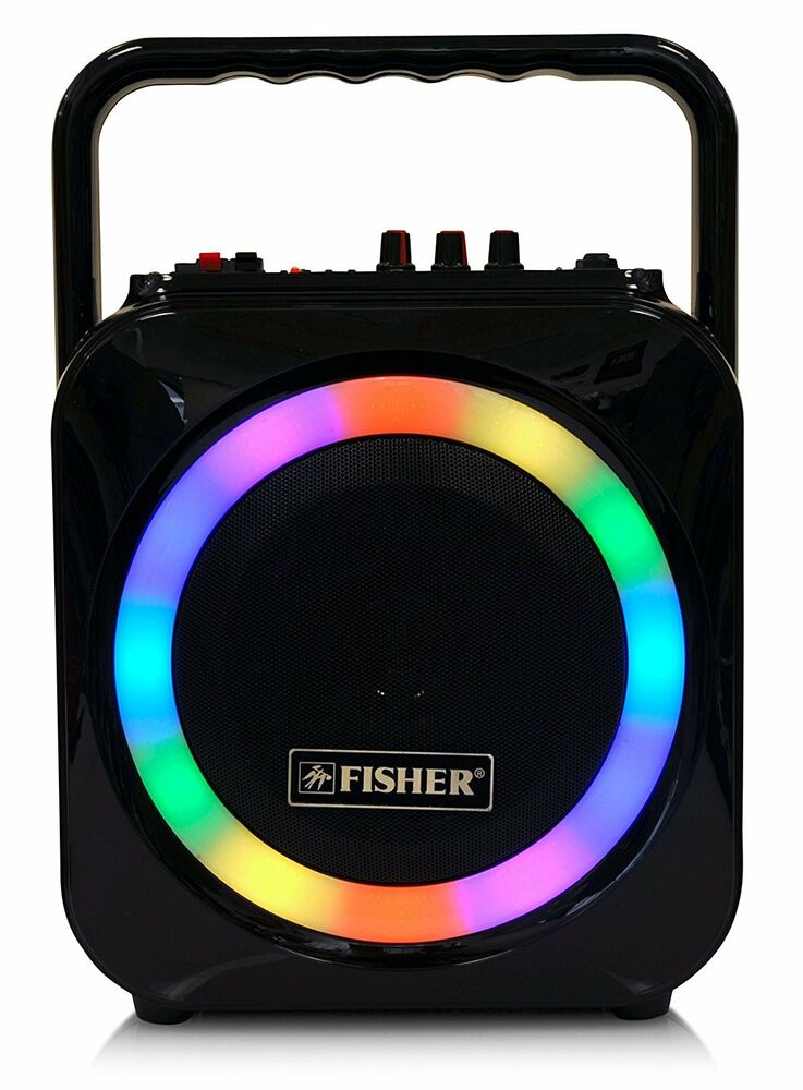 Fisher Bluetooth Wireless Portable Party Speaker W 6