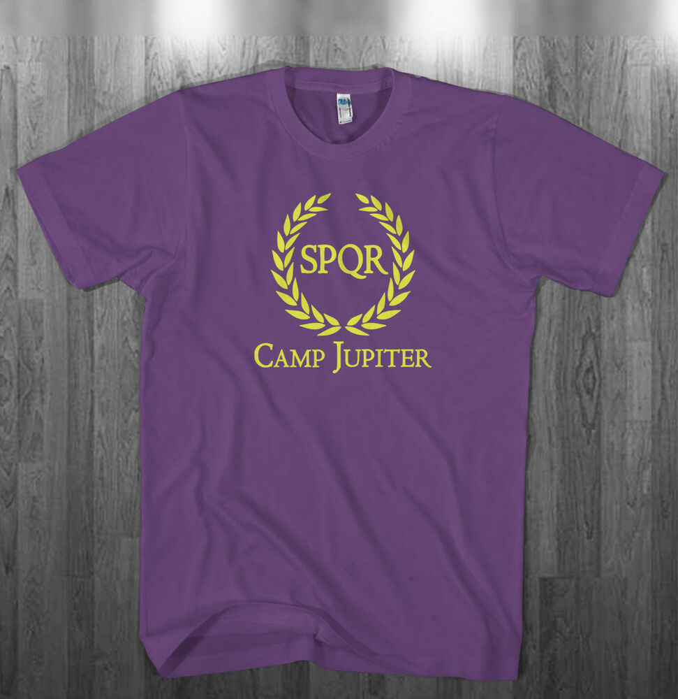 Camp Jupiter T-shirt Percy Jackson SPQR Halloween costume ... Camp Jupiter Shirt Percy Jackson