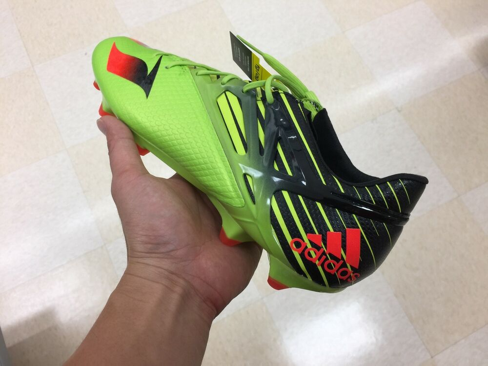 84952e853 Details about New Adidas Messi 15.1 FG AG Mens Soccer Cleats   Green    Black boost ultra NMD