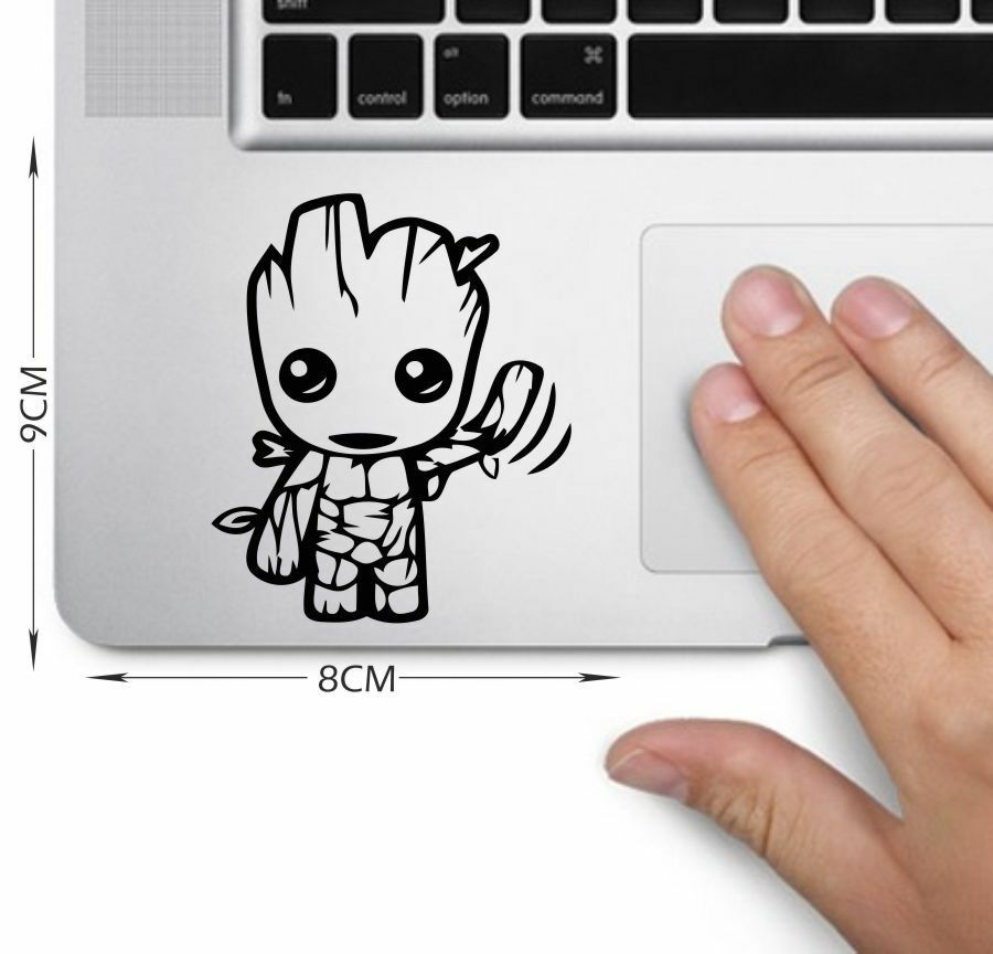 baby groot guardians of the galaxy vinyl decal car, laptop, wall