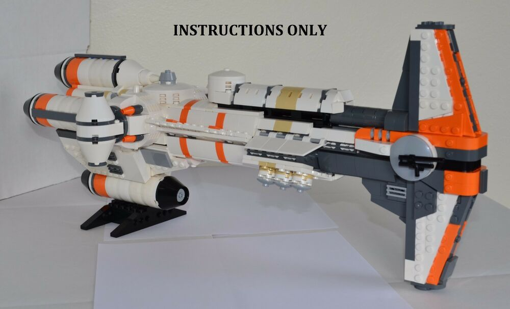 Lego Star Wars Ucs Hammerhead Corvette Instructions Only Collectors