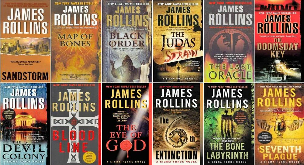 Sigma Force Series Collection Set Books 1-12 by James Rollins Brand ...