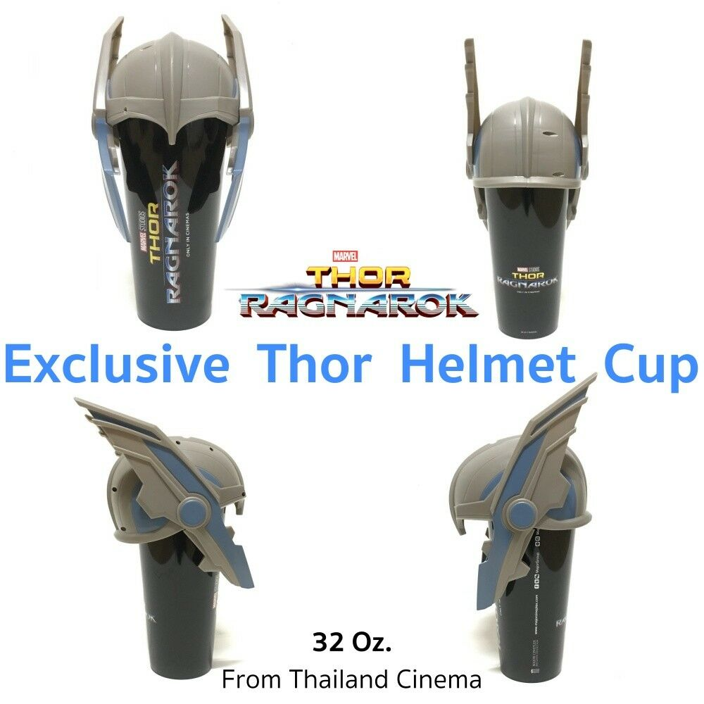 New The Avengers Marvel Exclusive Thor Helmet Cup 85 oz ...
