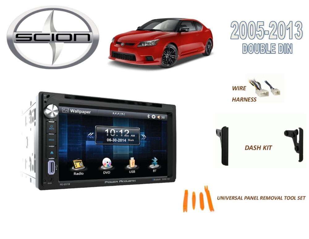 2005 2013 scion tc car stereo kit bluetooth touchscreen. Black Bedroom Furniture Sets. Home Design Ideas