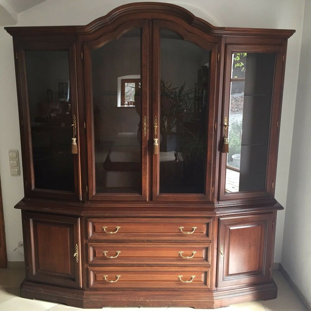 selva verona garda vitrine italienischer stil ebay. Black Bedroom Furniture Sets. Home Design Ideas
