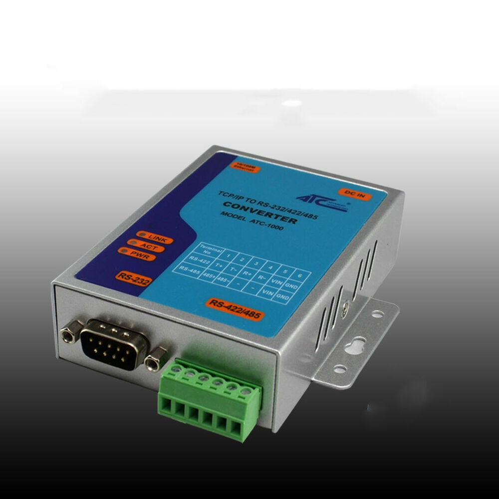 ATC-1000 TCP/IP Ethernet to Serial RS232 RS485 RS422 Converter ...