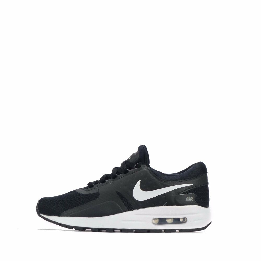 ce1d8af8e3 Details about Nike Air Max Zero Essential Junior Youth Shoes Black/White