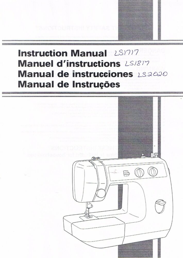 Brother LS40 LS40 LS40 Sewing Machine User Guide Owners Awesome Brother Charger 651 Sewing Machine Manual