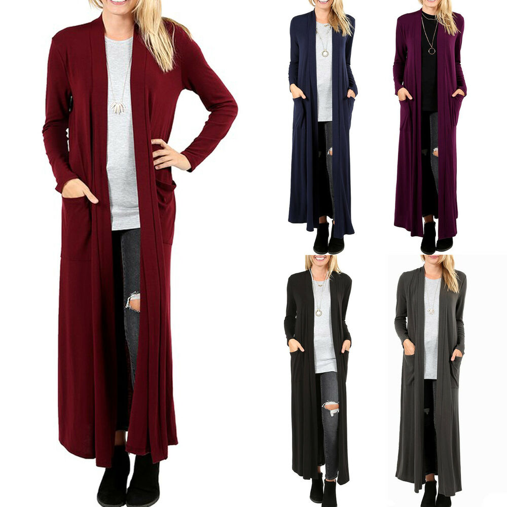 Maxi Cardigan: Women's Clothing | eBay